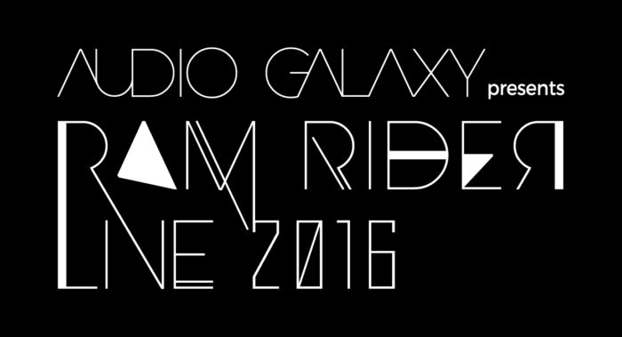 AUDIO GALAXY presents RAM RIDER LIVE 2016